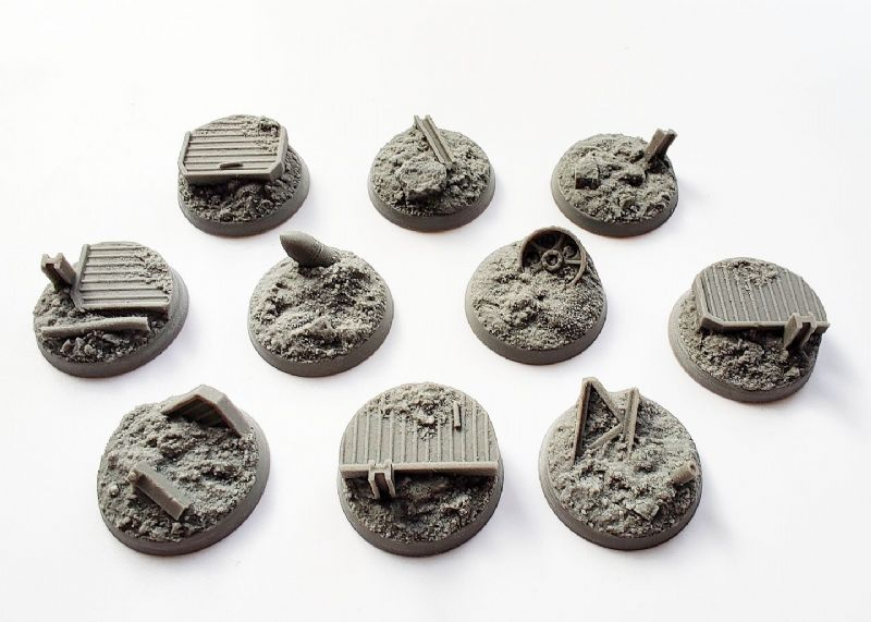 28mm Trench Warfare  Bases (10)